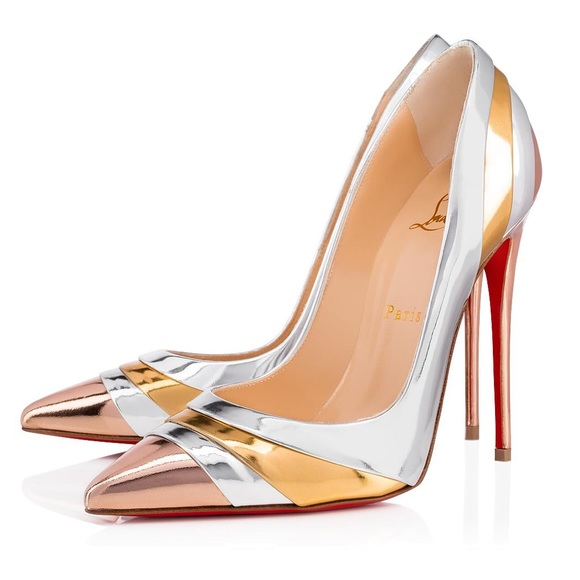 new product ad48d 8f1d5 NEW Christian Louboutin Eklectica 85 heels